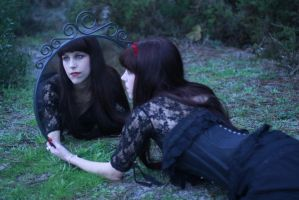 Dark Valley Stock V by KahinaSpirit