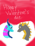 Valentine's gift by Draconet