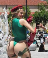 Cammy Cosplay Booty Morph7 by kenmasters33