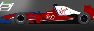 F1 Virgin Racing Livery by brandonseaber
