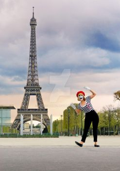 Paris is Mime Now by AlyssaKing