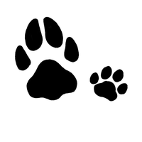 Pawprint Tattoo Design by My-God-Issa-Girl