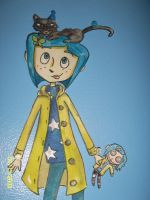 coraline by SweetPeaLinda12