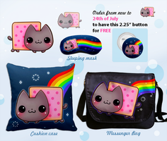 Kawaii Nyan cat by tho-be