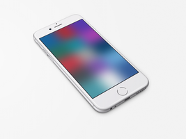 Texture-Colour-Blur1 Wallpaper for iPhone 6 and 6+ by kiwimanjaro