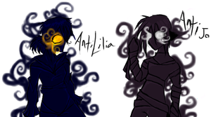 AntiLilia and AntiJo by joduchat