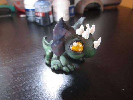 LPS Custom: Greater Basilisk (from HoMM3) by pia-chu
