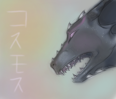 Starry dragon again by Kyo-Muze