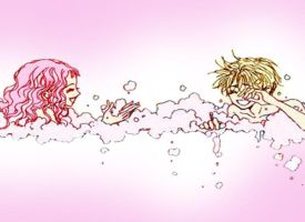 Bubble bubble toil and love by shadowcat1510
