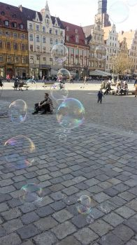 Soap bubbles by Sirwarbe