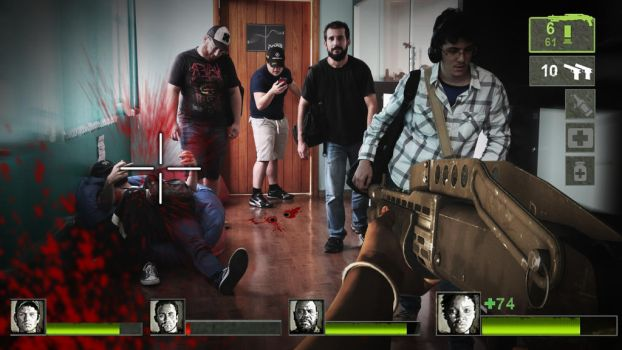 Left 4 Dead - Gamefication project. by cauapicetti