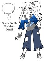 Rena Shark Theme Outfit by Sakurarmarie