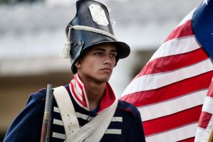 Soldier from the War of 1812 by TomFawls