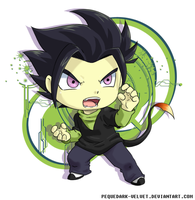 Chibi Commission .:Saburo:. by PEQUEDARK-VELVET