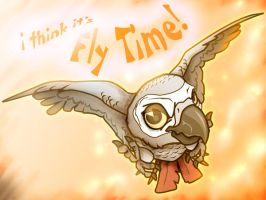Fly Time by black-brd