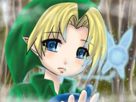 Young Link by RayanWoulfe