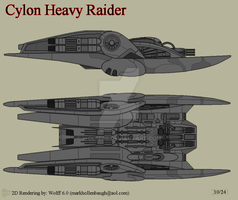 Cylon Heavy Raider by Wolff60