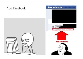 You don't say, Facebook by Lefty916