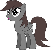ShadowStone the Oooohhing Dark Chocolate Horse by TheShadowStone