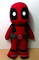 Deadpool Plushie by thedomi