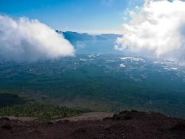 View from Mount Vesuvius by tehfusion