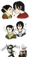 marian/merrill tiny doodles by dashyice