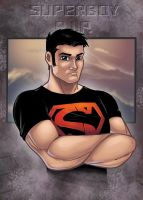 superboy rip colored by ivy by JamieFayX