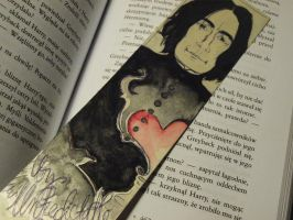 Severus Snape BOOKMARK DETAIL by UnPredictableGirl