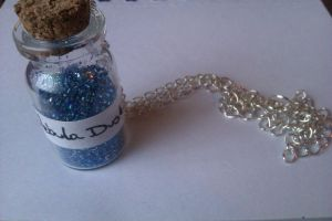 Nebula Dust Necklace by CharlesonofCharles