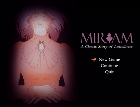 MIRIAM: Title Screen (WIP) by nelly2793