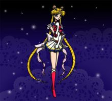 Stary Sailor Moon by dumbsquared
