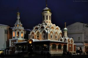 Church of Kazanskoy Mother of God by Lyutik966