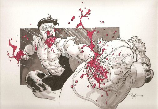 Invincible VS Conquest by RyanOttley