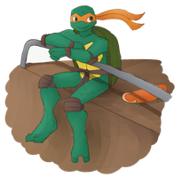Michelangelo by artistic-blossom