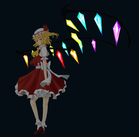 Flandre Scarlet by Yeale