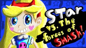 Star Butterfly Joins The BATTLE! by PakoTheHedgeDog