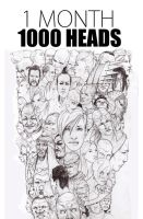 one thousand heads by one-thousand-heads