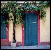 Blue Door Squared by zasu