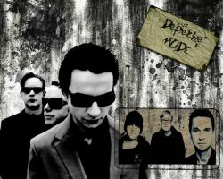 Depeche Mode Wallpaper by Hututa