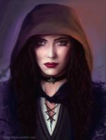 Yennefer of Vengerberg by Darkellaine