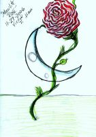 moon lite rose by angelbaby88
