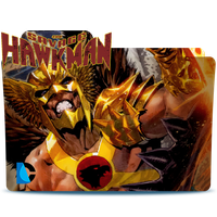 [DC Comics] The Savage Hawkman Folder by Rego1993