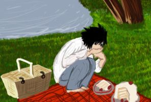 L's Picnic by Xcutee-fruiteeX
