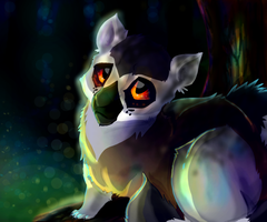 Chichi's luminous light:PC by 9tailsfoxyfoxy