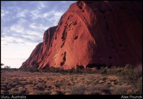 Uluru, Australia by aCreature