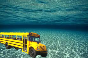 We all Live in a Yellow Bus-Marine by PsychPsych-o