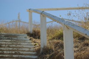 Old Beach Stairs 2 by FallowpenStock