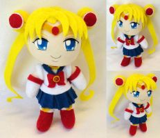 Chibi Plushie, Sailor Moon by ThePlushieLady