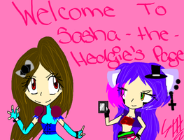 Welcome to S-T-H's Page!!! by Sasha-the-Hedgie