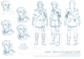 Legend of Zelda - THK - Link, Hero of Legend by lthot